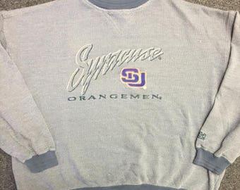 Vintage Syracuse Orangemen Crew Neck