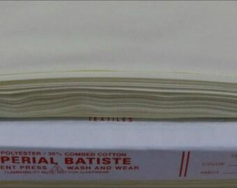 421 MOONBEAM YELLOW  Imperial Batiste Heirloom fabric from Spechler Vogel SVHT01
