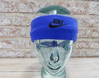 Ski Winter Nike Headband 80s Retro Vintage Approx.48cm x 6cm