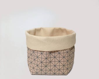 small - white / utensilo, storage, storage bin, fabric basket, fabric box, storage basket, home organisation