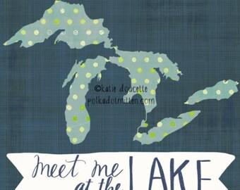 Meet Me at the Lake Great Lakes