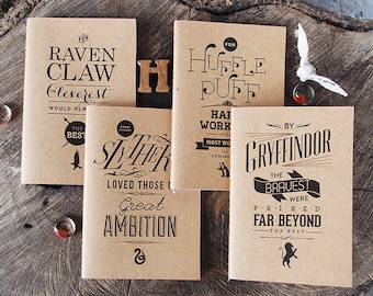 Fandom Jots Pocket Notebooks: Witchcraft and Wizardry