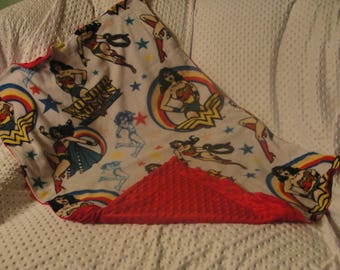 Toddler Blanket - Wonder Woman