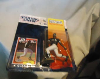 Vintage 1994 Kenner Starting Lineup Frank Thomas Chicago White Sox Action Figure With Card In Sealed Package, collectable
