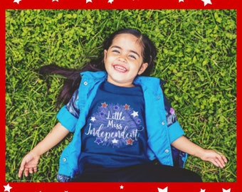 Girls fourth of July Tshirt kids 4th of July shirt childrens independence day tee toddler fourth of July shirt fireworks kids t shirt T