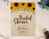 Sunflower wedding shower ...