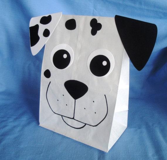Dalmatian Treat Sacks Dog Firehouse Fire Marshall