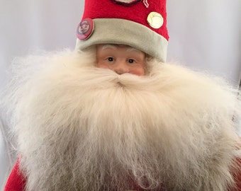 Ohio State Throw Back Santa