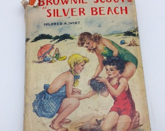 The Brownie Scouts at Silver Beach Series Book for Children