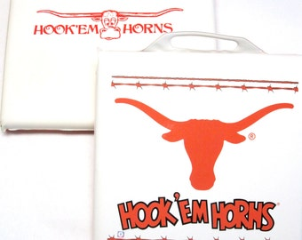 Stadium Seat Cushions University Of Texas Longhorns Hook Em Horns