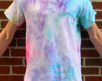 Pastel Rainbow Watercolor Tie Dye T-Shirt