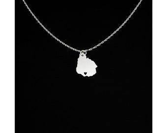 Uruguay Necklace - Uruguay Jewelry - Uruguay Gift