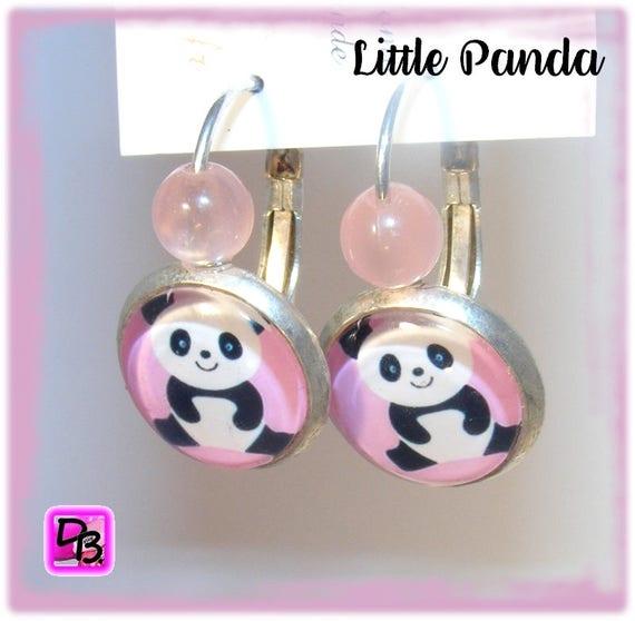 Boucles d'oreilles [Little Panda]