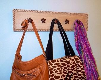 Purse Rack, Scarf Rack, Purse Hook, Scarf Hanger, Accessory Holder, Organizer