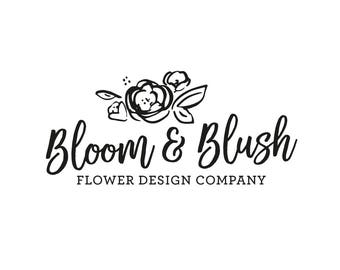 Premade Logo Design - Professionally Designed Hand Written, Brush Script, Calligraphy Logo for your Business