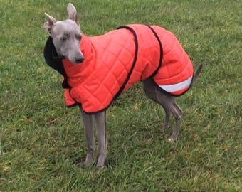 Bespoke Italian Greyhound/Whippet/Greyhound Waterproof Coat
