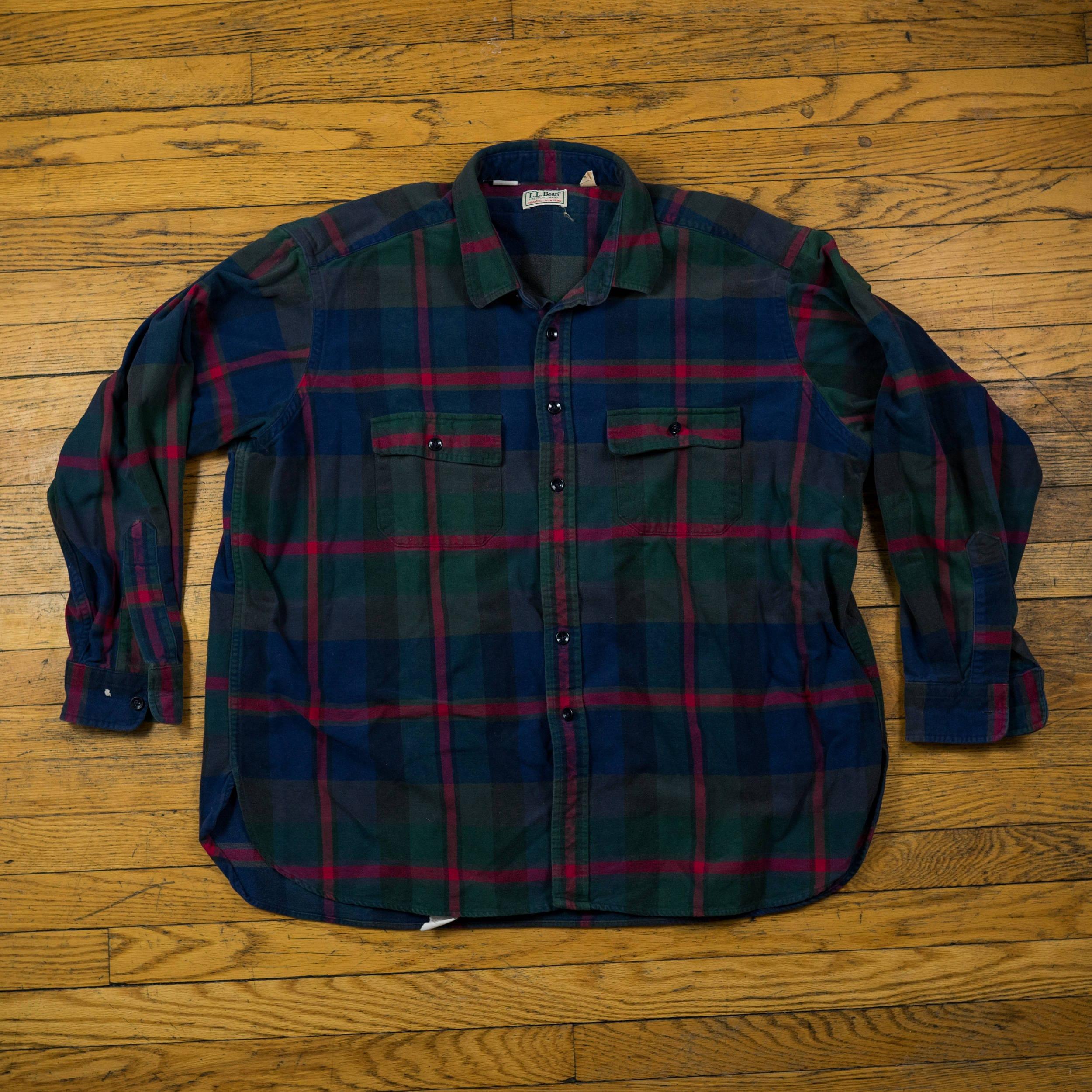 9691a6e5cca56 Freeport Flannel Shirt Ll Bean - BCD Tofu House