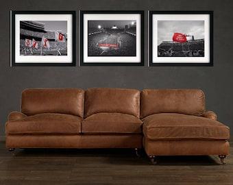 Ohio State Stadium -Art Print - Ohio State Buckeyes - Buckeyes Nation, Columbus Ohio, Football, Football gift, Ohio State Football