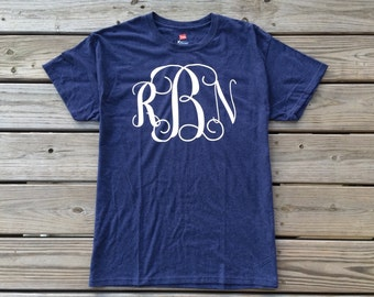 Womens large monogram shirt