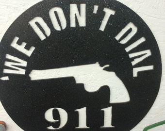 "911 12.5"" diameter in metallic black"