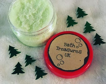 Delicious apple lip scrub