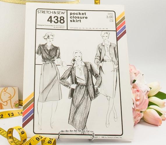 Tasche-Verschluss Muster 438 Schnittmuster Jahrgang