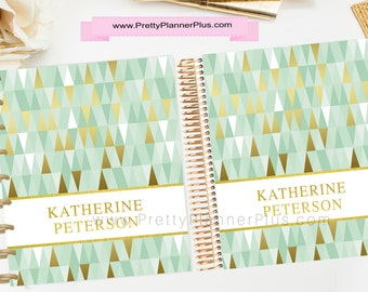 CUSTOM Printable Planner Cover Set, for use with Erin Condren LifePlanner™ and The Happy Planner®, Ref. C4