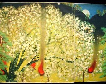 Japanese print Yokoyama Taikan, 1929
