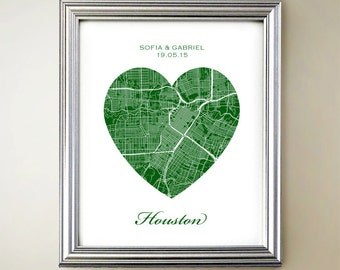 Houston Heart Map