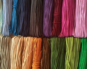 Soutache cord mix 2,5 mm jewelry making soutache braid gimp assorted 15 colors for beading sewing quilting DIY projects