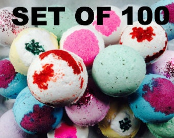 100 Wholesale Bath Bombs! Add your Scents in Notes at Checkout!/Bath Bombs, Wholesale Bath Bombs, Private Label