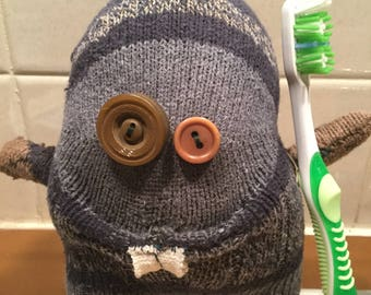 Randall - a silly sock creature