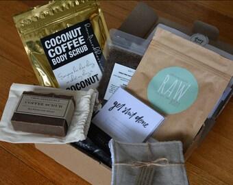 Happy Scrub - Coffee Scrub box