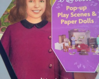 American Girl Pop up scene Rebecca