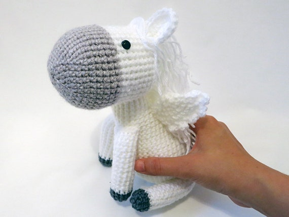 Amigurumi Horse Tutorial : Abby the horse amigurumi pattern pony crochet pattern home