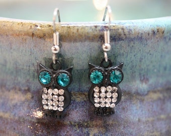 Owl Earrings - Item 1728