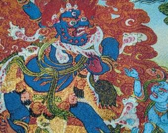 Tibetan Thanka Art:  the Buddhist Protector Mahakala