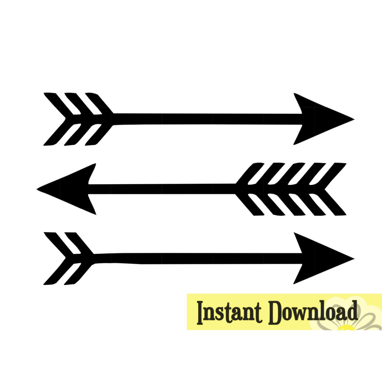 3 Arrows - .SVG & .studio3 cut file - Instant Download ...