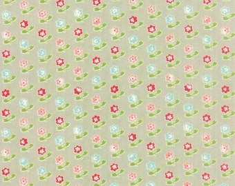 Vintage Picnic Rosie Gray by Bonnie and Camille from Moda -1 yard