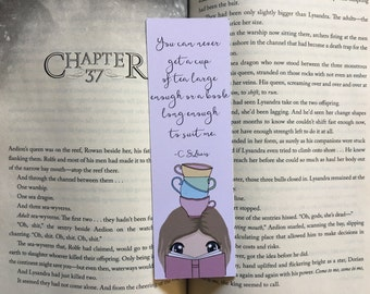 You Can Never Get A Book Long Enough Bookmark