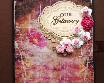 Scrapbook album, Photo album, Mini album,Vintage album,Retro album,Travel book,Memory book,Pictures,Journal,Field notes,Favor tag