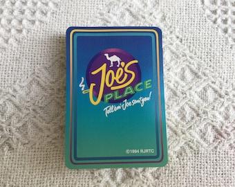Vintage Joe's Place Camel Playing Cards 1994 RJRTC Tobacciana