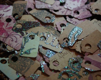 Mini Tags 100CT/ Price Tag / Scrapbooking / gift Tag