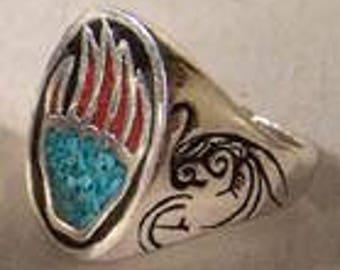 Palm Print Ring