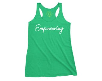 Motivational Tank top - workout tank, fitness, workout shirt, workout tank top, fitness tank, kickboxing...You are working hard - Empowering