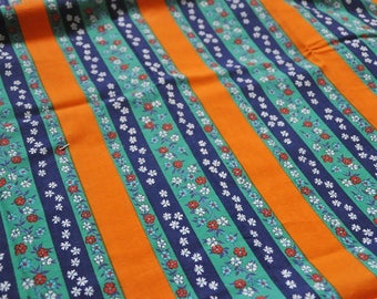 Vintage fabric german 70s fabric 50cmx100cm: Gretel