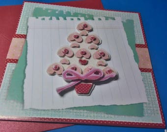 3D 782 hand made greeting card