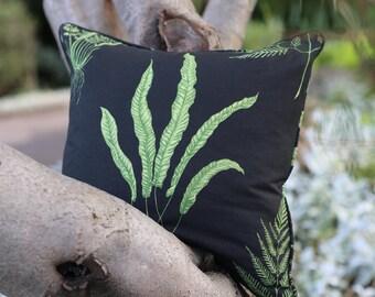 Woodland Ferns Feather Cushion
