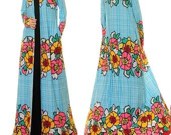 Long Cardigan | Maxi Cardigan | Boho Robe | Floral Cardigan | Boho Kimono Cardigan | Duster Jacket | Floral Kimono Robe | Kimono Jacket 6356