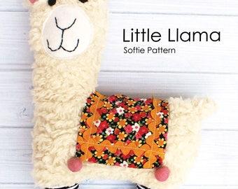 Little Llama Softie Sewing Pattern PDF